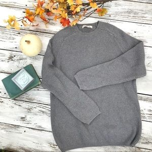 Old Navy Gray Crew Neck sweater